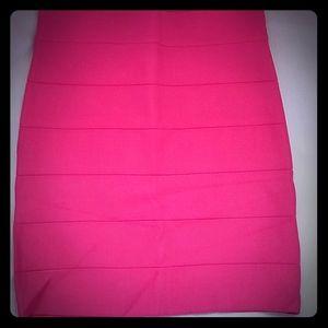 Bebe skirt and top